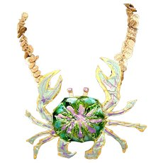 """Hand Crafted Mixed Media """"Zodiac"""" Necklace"""