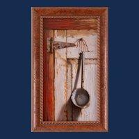 "William Albanese, Sr., ""Thirsty"" Still Life Acrylic Painting"