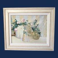 "Arrah Lee Gaul, ""Audrie"" Still Life Oil Painting"