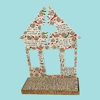 "Howard Finster, ""Broken House,"" Folk Art"