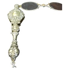 Whimsical sterling silver lorgnette