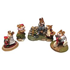 Charming Wee Forest Folk lot 1