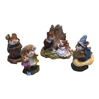 Charming Wee Forest Folk lot 3