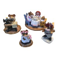 Charming Wee Forest Folk lot 5