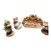 Charming Wee Forest Folk lot # 7