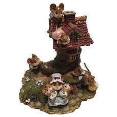 """Wee Forest Folk """"The Little Mice Who Lived in A Shoe"""""""