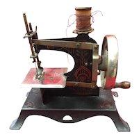Very Sweet Miniature Child's Sewing Machine