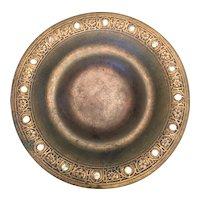 Exquisite Bronze Tiffany Plate