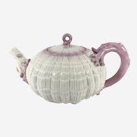 Belleek Tridacna teapot 2nd Black Mk