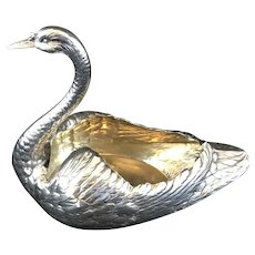 Gorham Durgin sterling swan