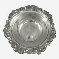 Tiffany sterling Clover Blossom bowl 1891-1902