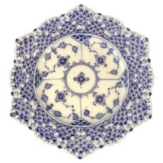 Royal Copenhagen Double Lace Full Lace Plate