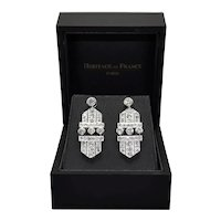 Art Deco Diamonds Earrings