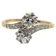 Diamonds Toi et moi ring