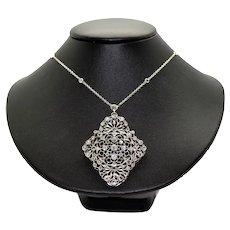 Art Deco Diamonds Pendant