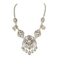 Cini Sterling Double Cherub Necklace