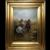 Victorian Oil Painting Cavalier Roundhead Sword Skirmish Horseback Battle
