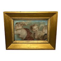 Renaissance Old Master 17th Century Painting The Three Graces