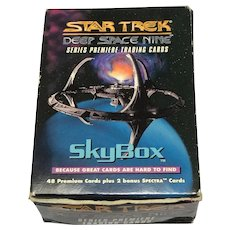 Limited Edition Box Set Star Trek Deep Space Nine Series Premier Trading Cards Circa 1993
