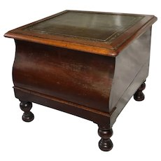 English Regency Circa 1820  Library Single Step Table Stand