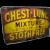 Large Medicine Chemist Stotherts Atherton Chest & Lung Mixture Enamel Sign
