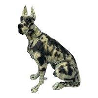 "Great Dane Dog ""On Guard"" Sculpture Limited Edition 62/295 April Shepherd"