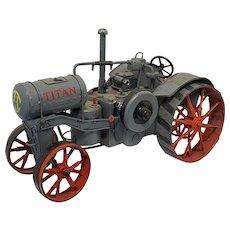 Vintage Scratchbuilt Titan Model Tractor