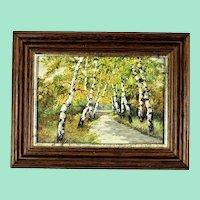 Birch avenue by Willi KRUG