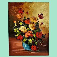 Beautiful oil painting, signed.