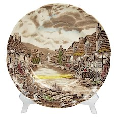 6 vintage plates from Johnson Brothers Old Countryside Pattern, England.