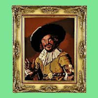 Musketeer, tapestry picture
