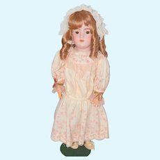 "Handwerck 28"" Doll 119 Bisque Head w/ Stamped Composition Body"