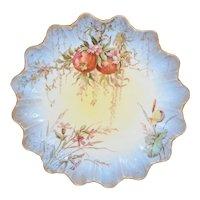 Doulton Burslem Hand Painted Pomegranates & Flowers Plate