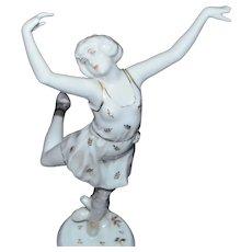 Rosenthal Dancing Lady Decor Figurine Model 211 Spring Artist Charol
