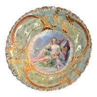 RS Prussia (OS) Scenic Bowl Boucher Toilette of Venus