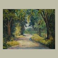 Canadian Landscape, Impressionist Oil Painting, Vivian Walker (1903-1972)