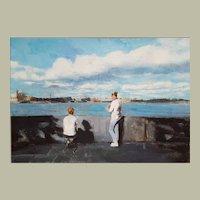 Modern Oil Painting, Original Spanish Contemporary Art, Bea Sarrias