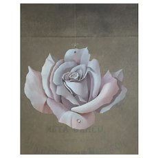 Don Clarke, Original Composition Flower Painting, Modern Art, 1992