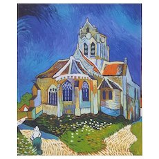 Vincent Van Gogh, The Church in Auvers-sur-Oise, 2004 Canvas Oil Painting