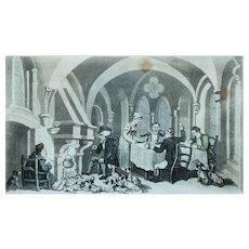Thomas Rowlandson Print, Original Doctor Sintax Print, 1820