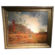 Fall Landscape by William Merritt Post