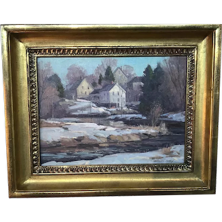 The  Old Mill Stream Spring ,by Bernard Corey