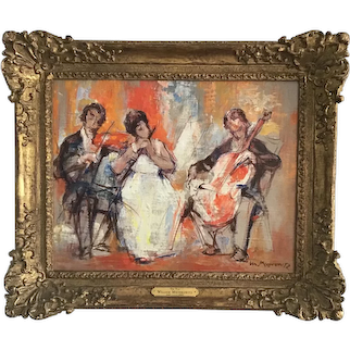 The.Trio by American artist William Meyerowitz