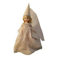 Madame Alexander fairy godmother hard plastic doll with box