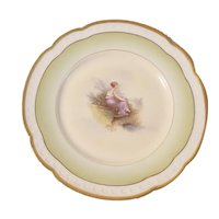 Hand painted and signed Rosenthal plate