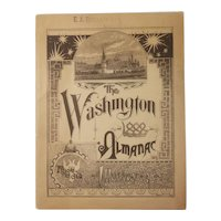 1888 Washington Life Insurance Co Almanac