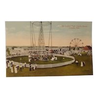 Early 20th century Lincoln Nebraska amusement park postcard