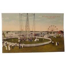 Early 20th century Lincoln Nebraska amusement park postcard