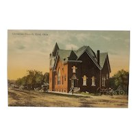 Early 20th century Enid Oklahoma postcard