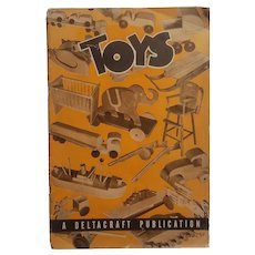 Wooden toy making pamphlet produced by Deltacraft in 1944